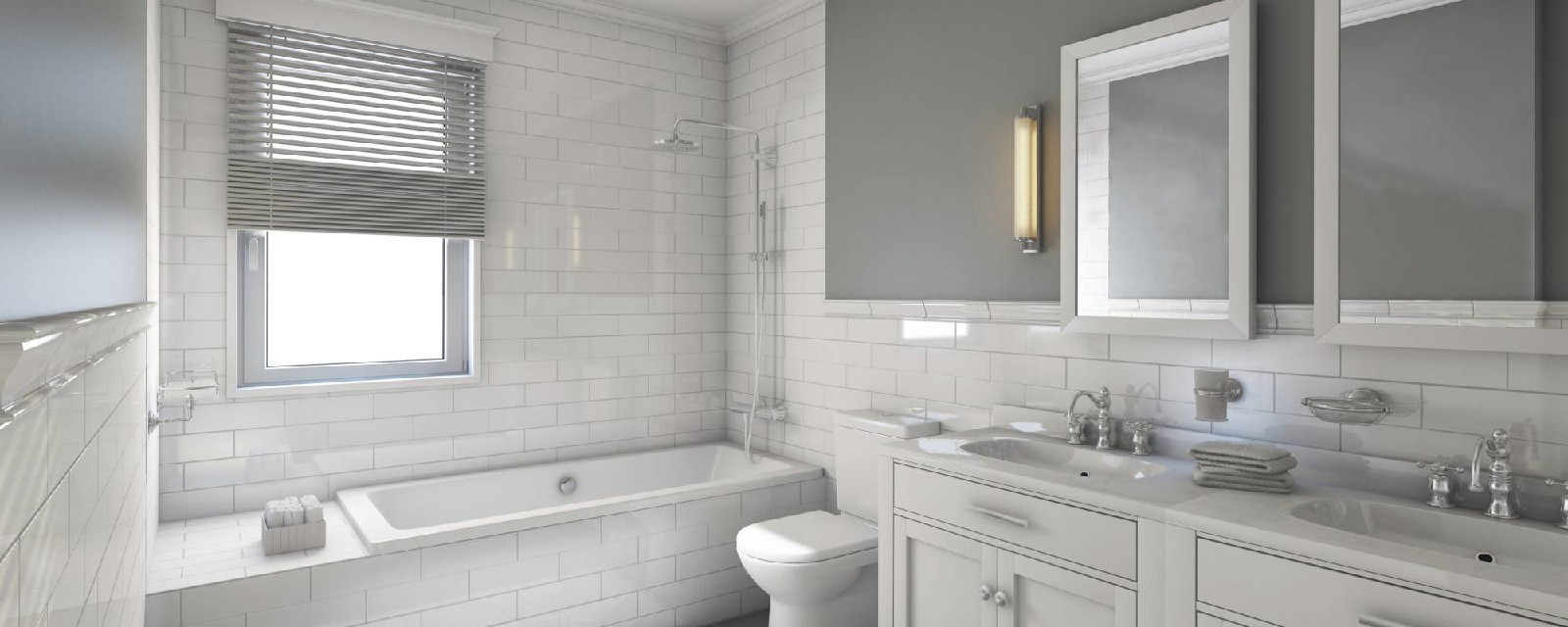 Bathrooms, Fixtures, Showers & Stalls